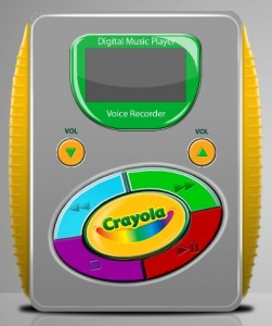 crayola-mp3-player